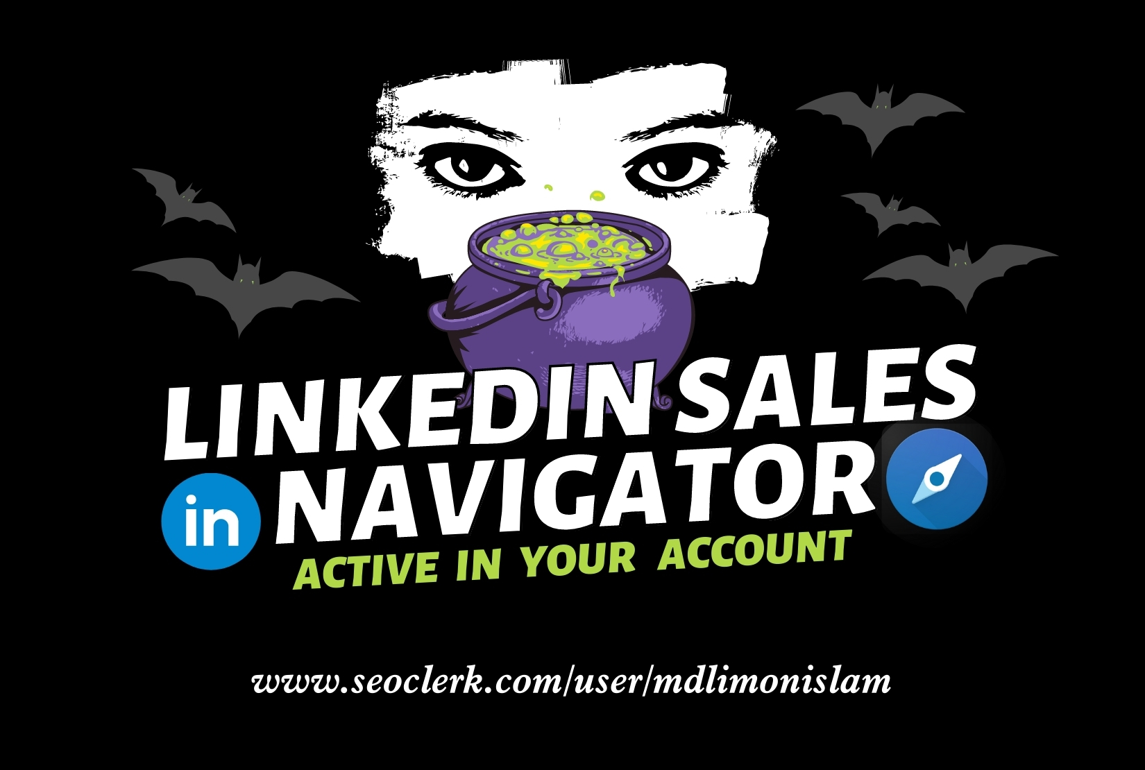 I will upgrade or active your LinkedIn sales navigator premium account for lead generation