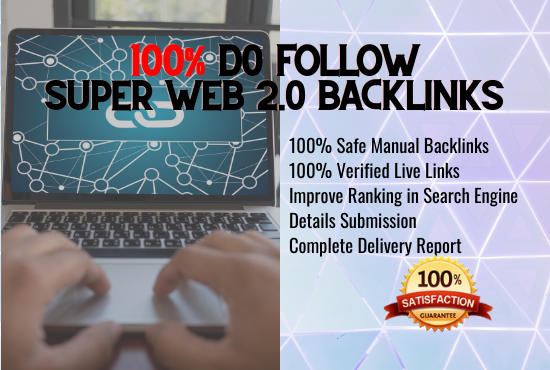 I will build 100 authority web 2.0 backlinks manually