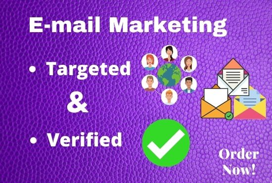 I Will Provide You 1000+ Verified Email Lists To Improve Your Business