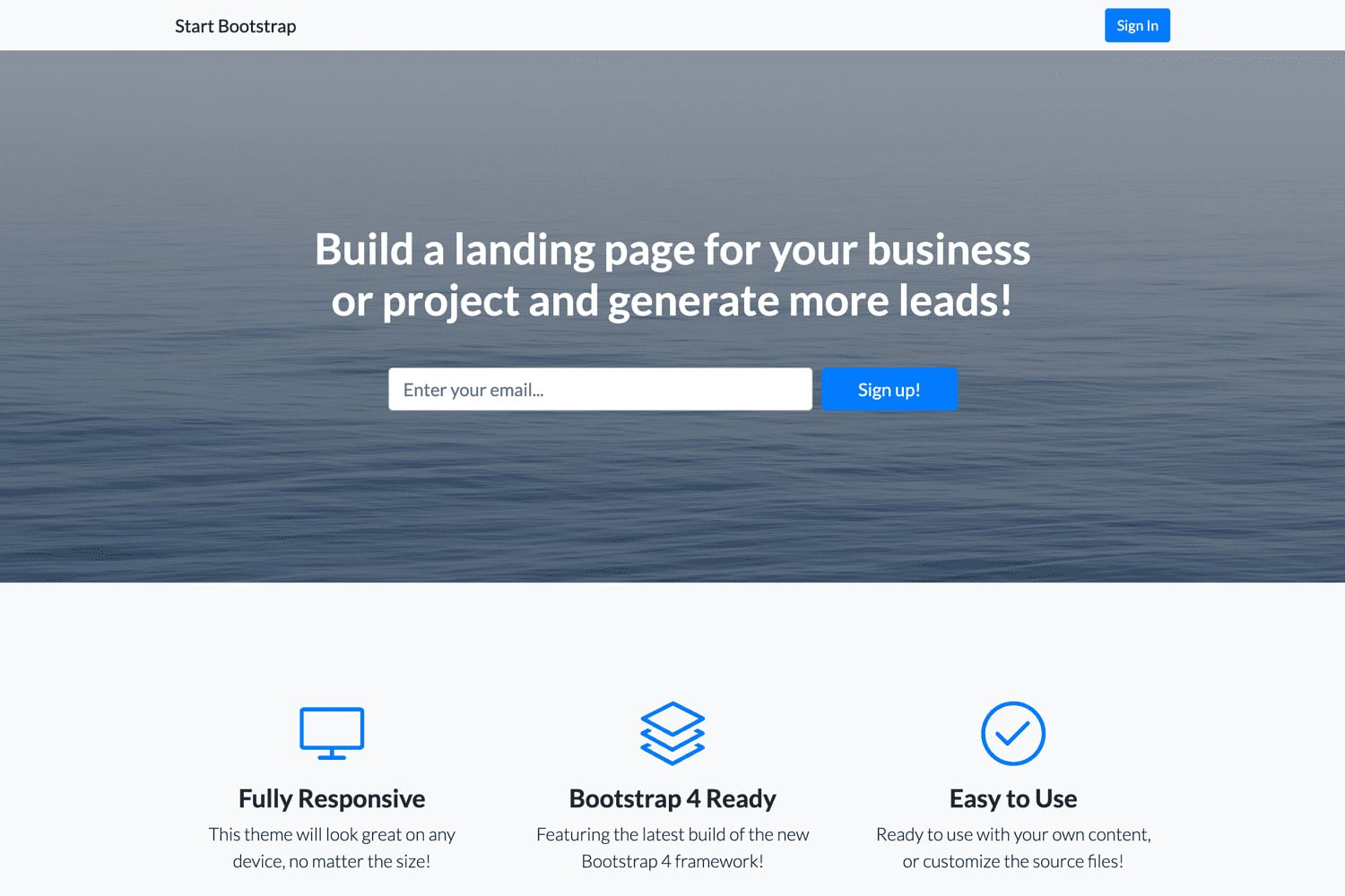 I will create websites for your business
