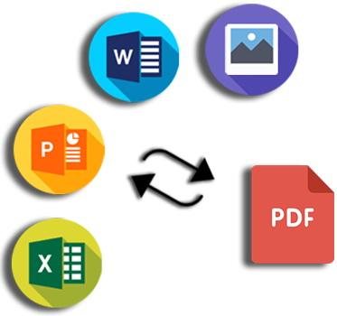 I will convert PDF to ms word,  ms Excel and many more.