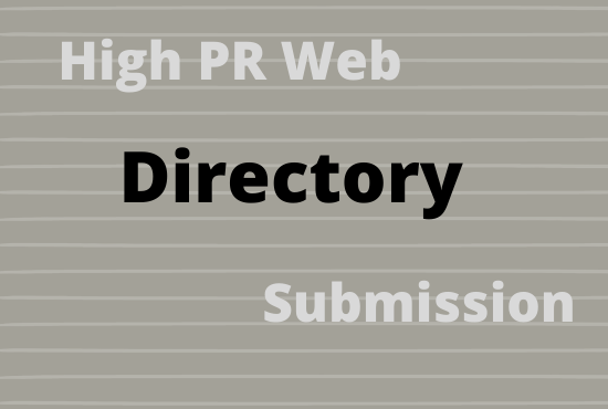 I will creat 300 directory submission links