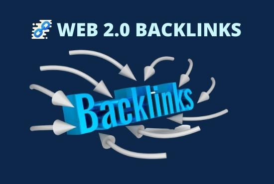 I will do 40 web 2.0 High authority DA PA backlinks