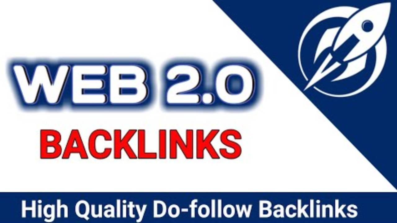 I will Do build 100 web 2.0 backlink