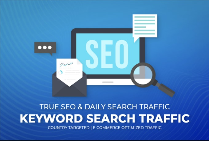 I will deliver google keyword search traffic