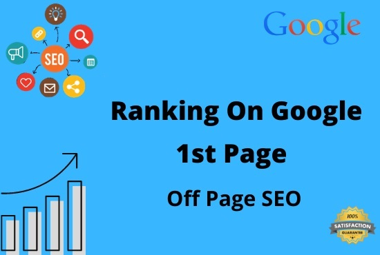 I will provide rank with your website on google 1st page