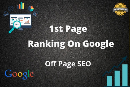 I will do SEO Service for google first page ranking