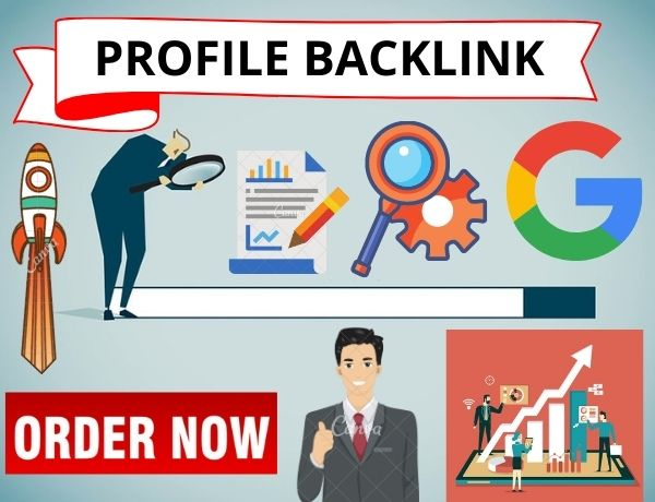 I will create 20 Profile backlink manually for your website
