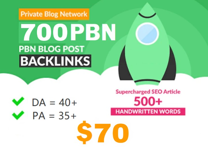 GET 700+ PREMIUM WEB2.0 PBN BACKLINK with High Da/Pa/Cf/Tf in your landing page WITH special site