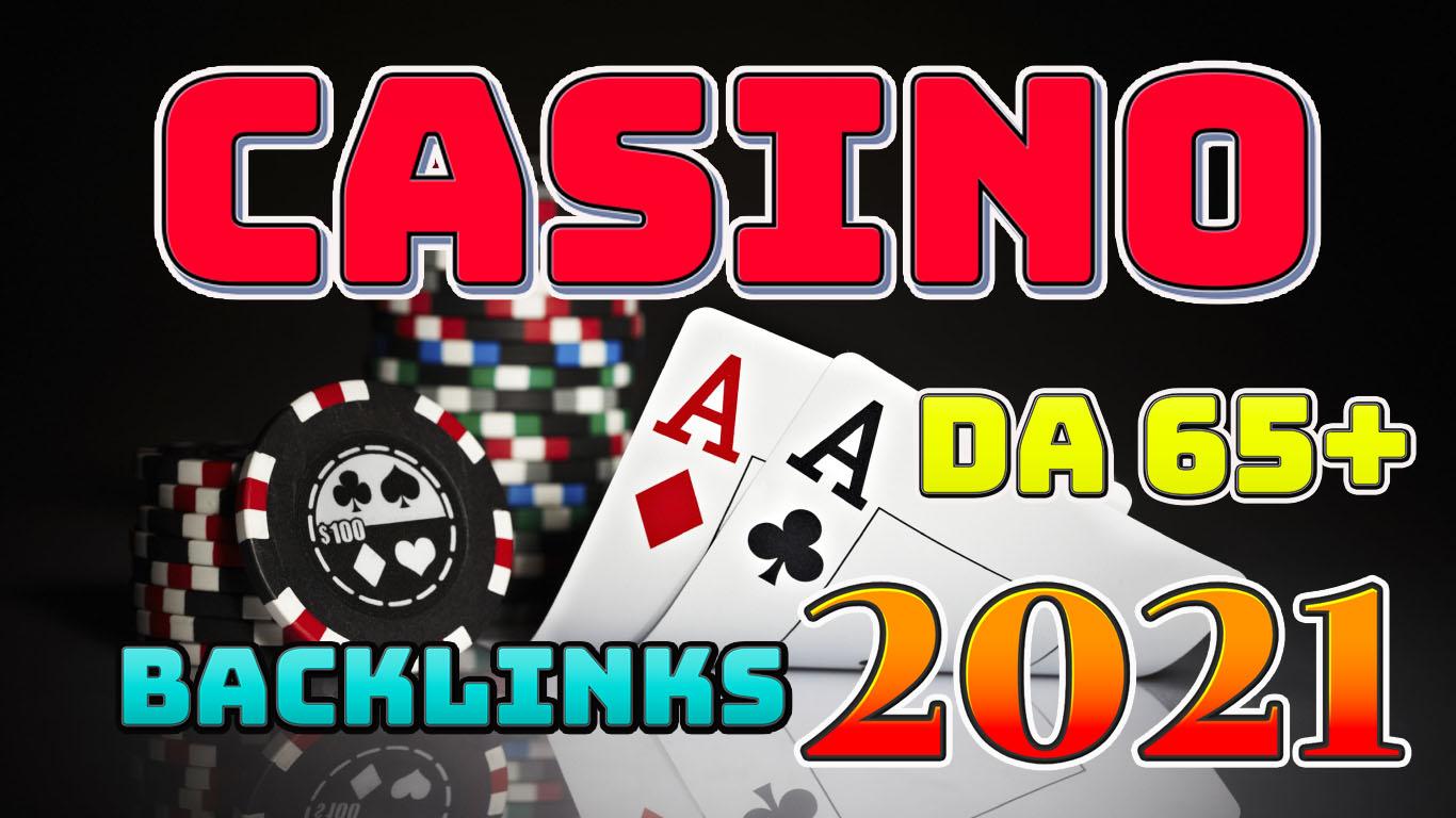 Get 300 High DA 65+ Casino,  Gambling Niche PBN Links