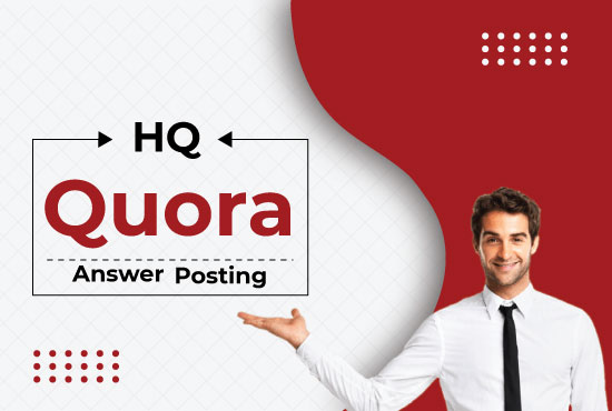 promote your website by 10 high quality quora answers with your keyword and url