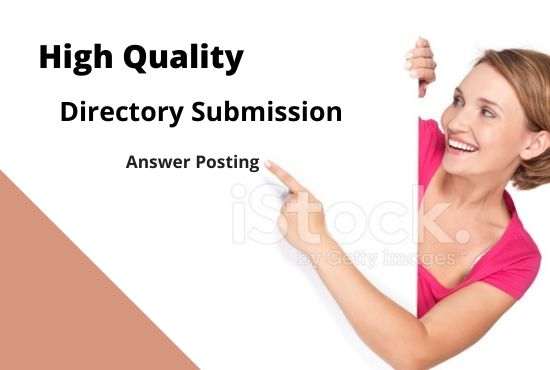 I Will Do 100 High PR Web Directory Submissions