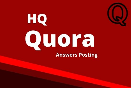 I will promote your website by 5 high quality quora answers