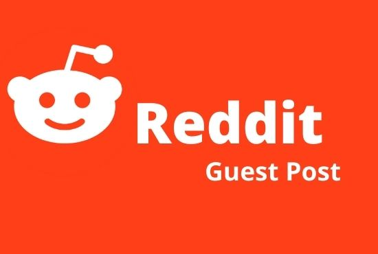 I will do promote your website by 5 high quality Reddit guest post
