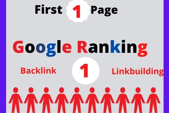 I will do guaranteed ranking your website on google first 1st page with Two keywords
