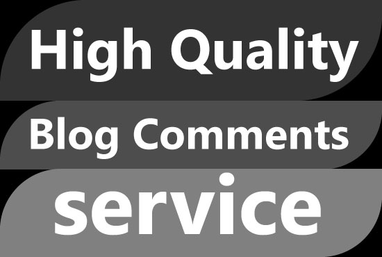 I will provide high quality 100+ blog comments for google top ranking