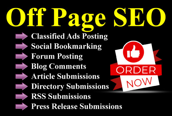 I will do off page SEO for you in 8 best ways