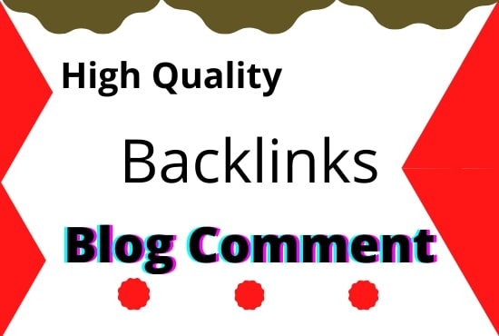I will give 50 high quality manually blog comments for your website