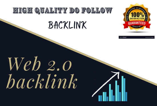 I will do 20 High Quality web 2.0 backlink for your website