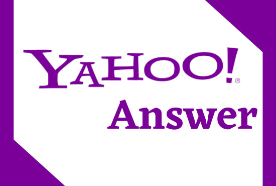 I will do 10 HQ yahoo answers with backlink to promote your website