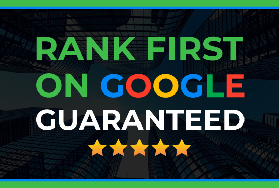 Offer guaranteed to rank your website on google first page