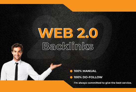 I will create High Quality 15 web 2 0 backlinks