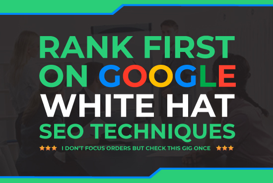 Offer guaranteed rank your website on google 1st-page with keyword and URL