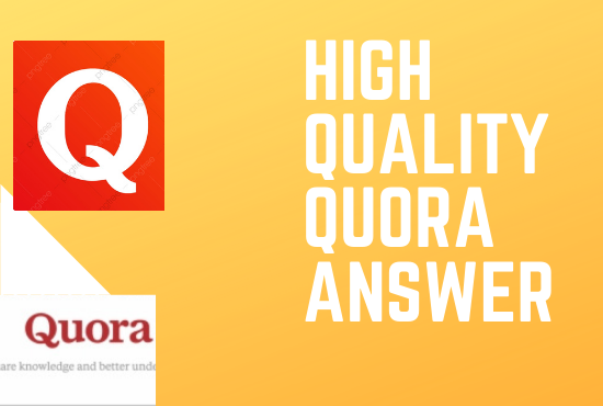 I will promot your website by 15 high quality quora answer
