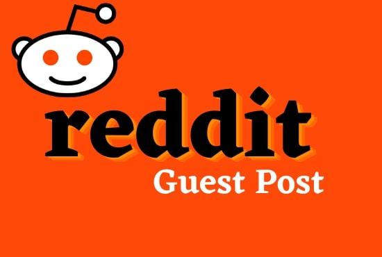 Guaranteed 5 Powerful Reddit Guest Post Backlink With Your Keywords & URL