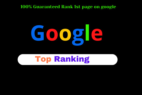 I will do professional SEO service for google top ranking
