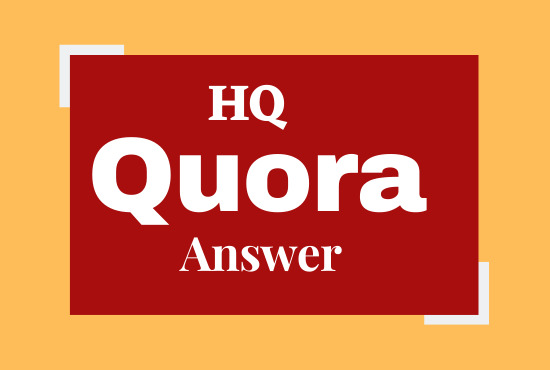 Progress your website with 5 high quality Quora answers