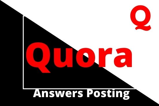 I Will Do Promote Your Website 20 High-Quality Quora Answers With Targeted Traffic