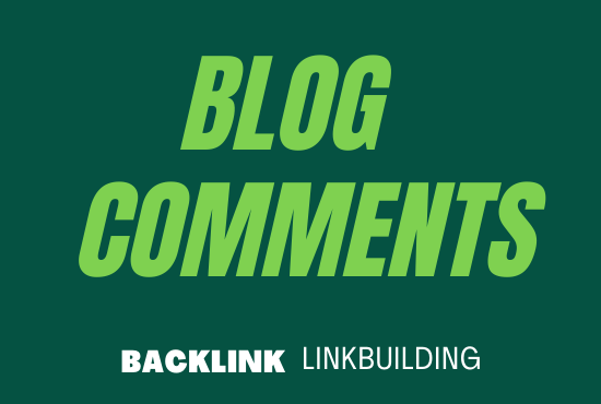 Promote Your webSite with 50 High Quality blog comments posting