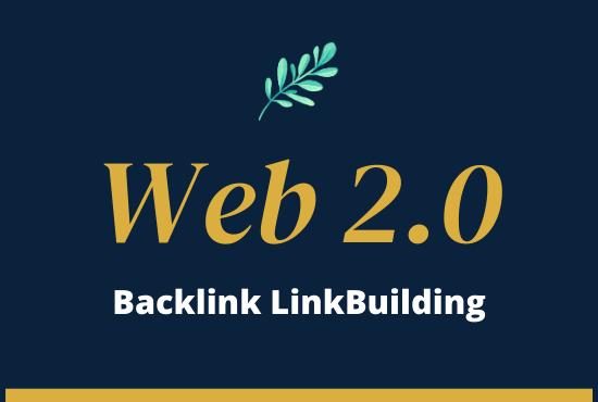 I will do Promote Your Website 100 Web 2.0 SEO High Quality DA PA Backlinks