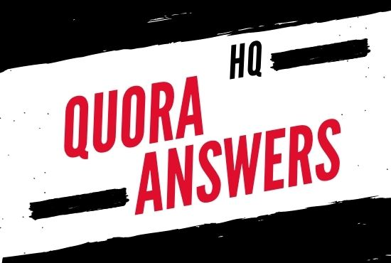 I Will Do Promote Your Website 10 High-Quality Quora Answers With Targeted Traffic