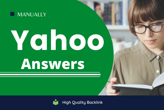 I will do promote your website with 10 unique yahoo answers