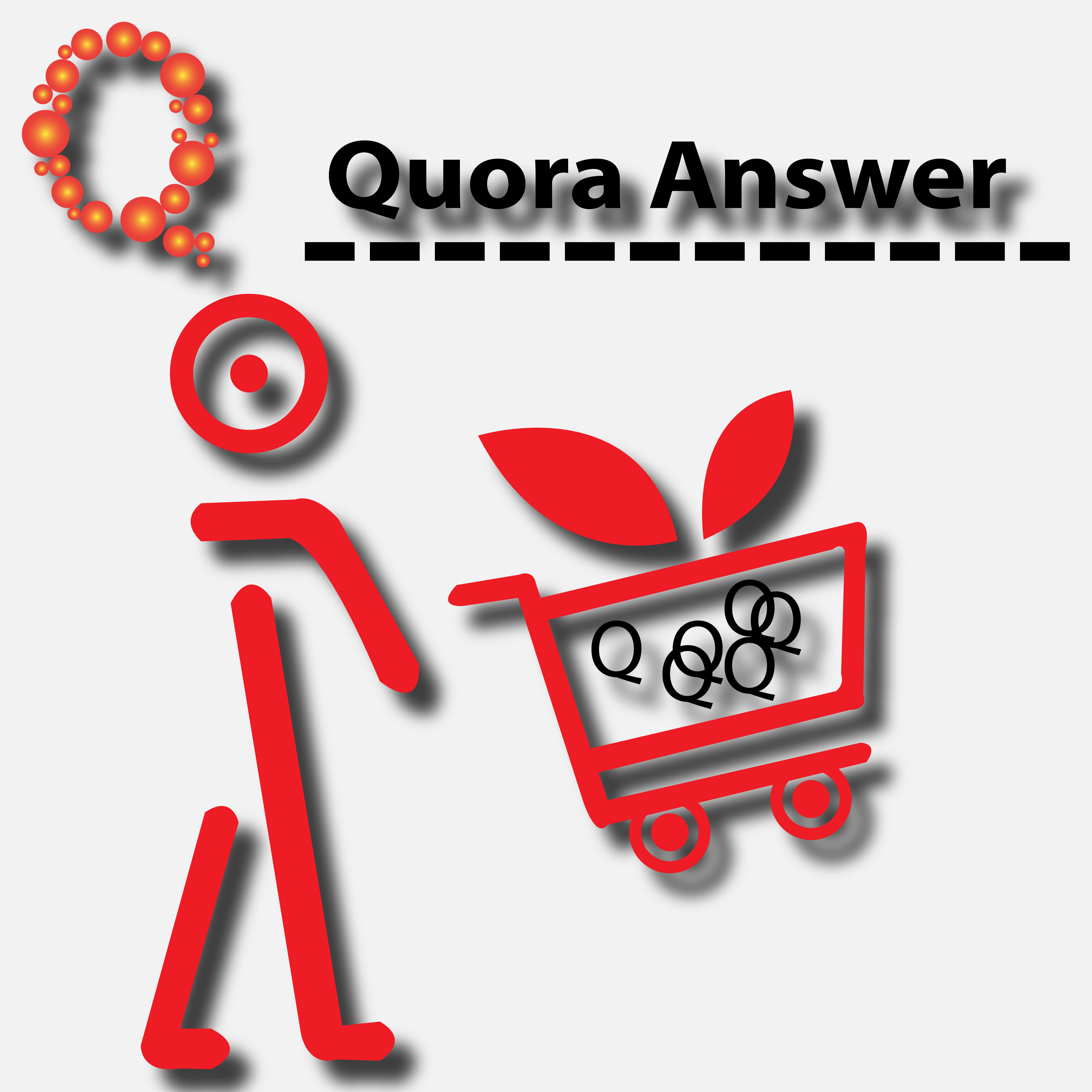 I will Give you natural 10 quantity Quora Answers With Clickable Link