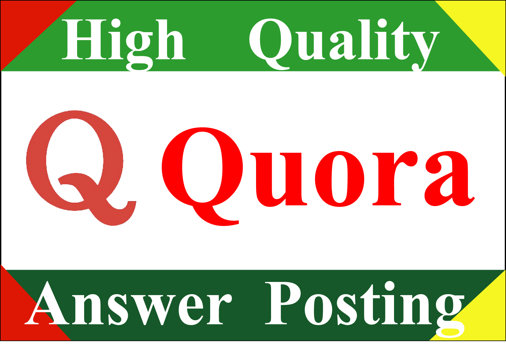 i will Promote your website high quality 3 Quora answers