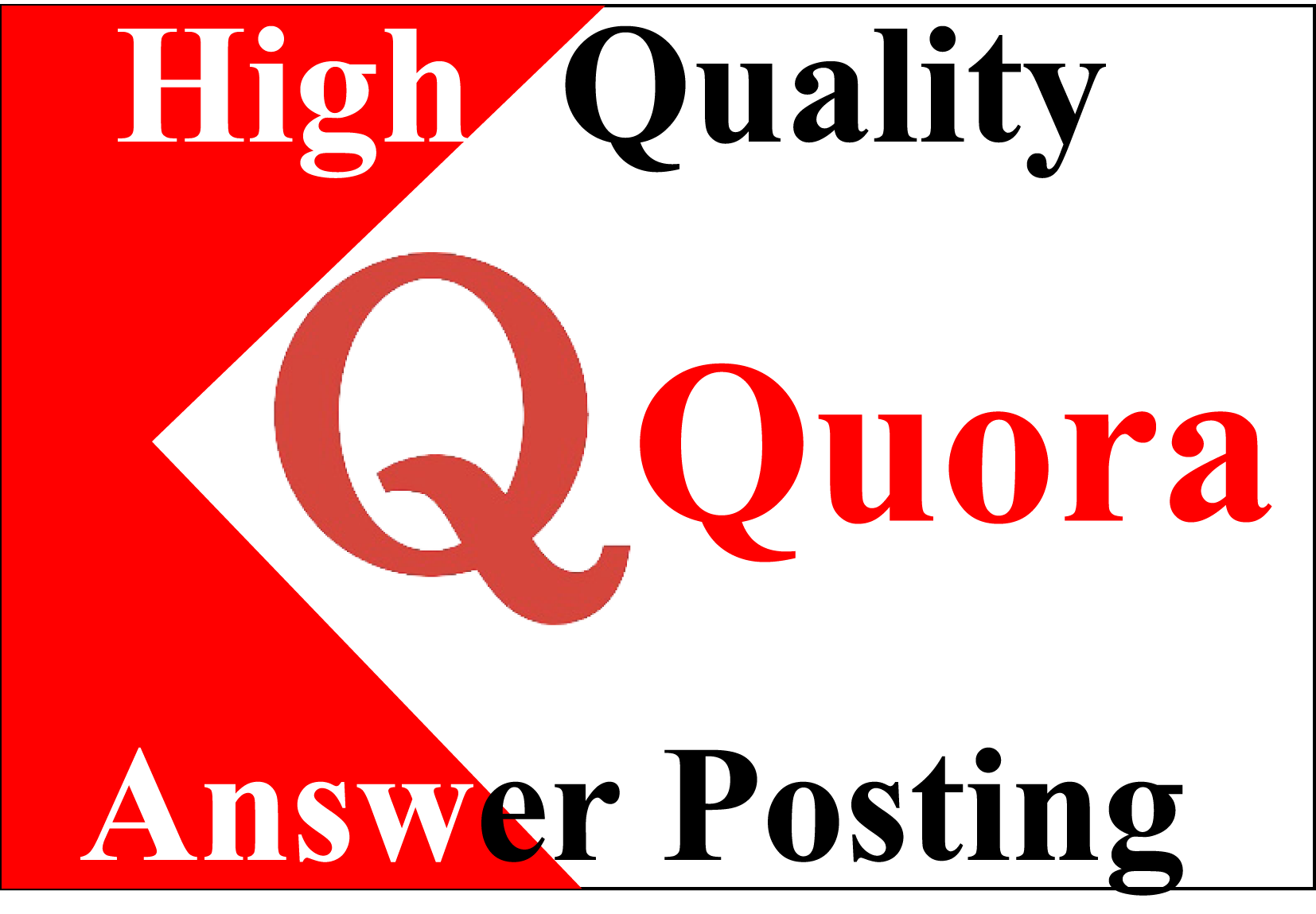 I Will Provide 20 High Quality Quora Answer With Clickable Backlinks