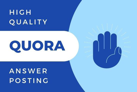I will promote your website 10 HQ Quora Answers with your keyword and URL