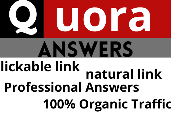 I will provide you 10 best quality quora backlinks