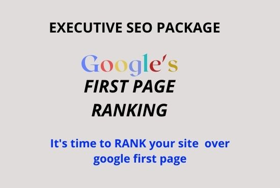 Rank Your website on Google first page with two keyword