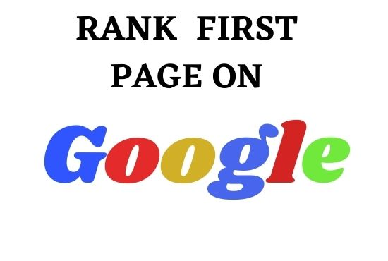 Rank Website on Google's First Page SEO Optimization on two keyword for Any Website According Google