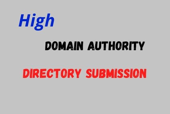 I will do manually 100 high quality directory submission backlinks
