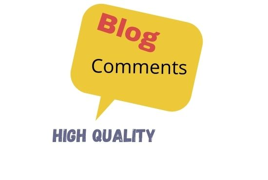 I will do 100 high authority do-follow blog comments backlink