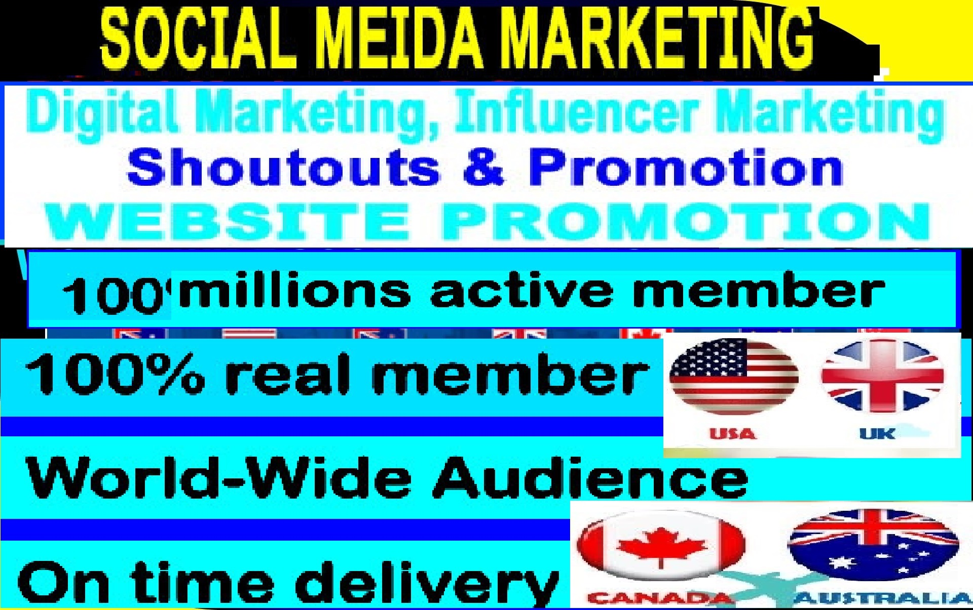 Promote Your Website To 10 Million facebook Professionals