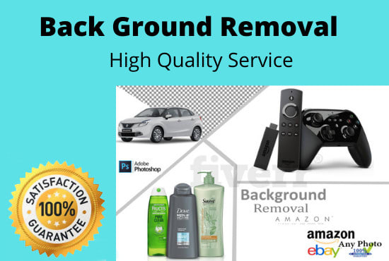 I will do 50 images background removal and photoshop editing