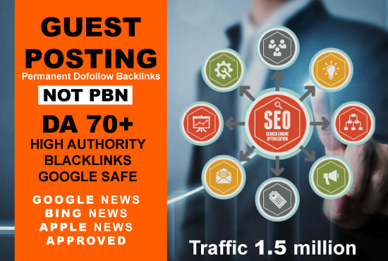 Guest Post on Google News Approved Website DA 70