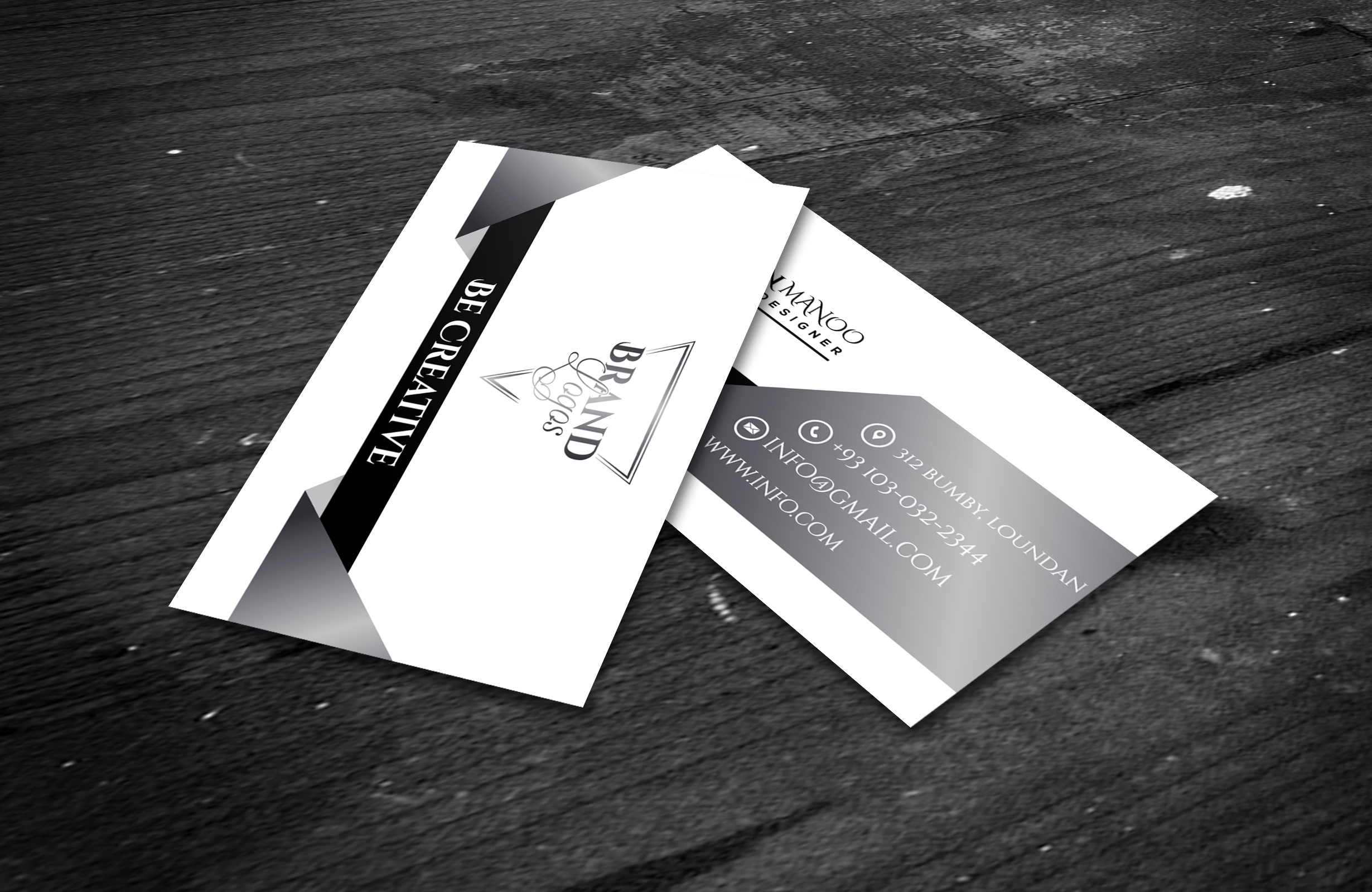 I will design a professional business card for your Business/brand
