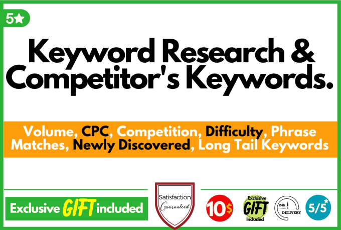 Keyword Research and Competitor's Analysis
